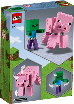 LEGO Minecraft - BigFig Series 2 (Pig and Baby Zombie)