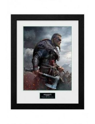 Framed Print: Assassin's Creed Valhalla - Ultimate Edition Cover, 30x40cm