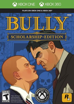 Xbox 360 Bully: Scholarship Edition US Version - Xbox One Compatible
