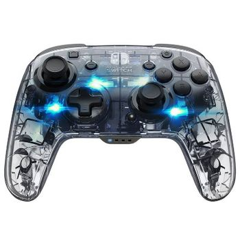 PDP Afterglow Wireless Controller - Blue (Switch)