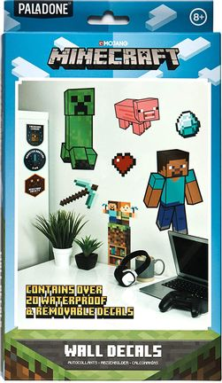 Minecraft - Wall Decals, 20+ Pieces