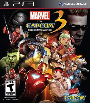 PS3 Marvel vs. Capcom 3: Fate of Two Worlds US Version [USED] (Grade B)