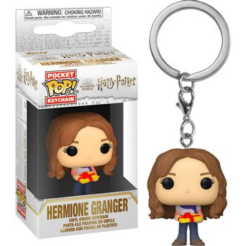 POP! Pocket Keychain: Harry Potter Holiday - Hermione Granger