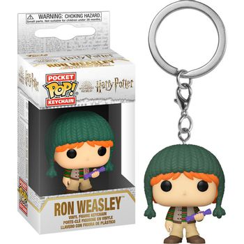 POP! Pocket Keychain: Harry Potter Holiday - Ron Weasley