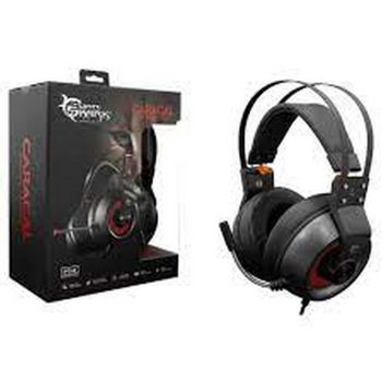 White Shark Caracal Gaming Headset - Black/Silver (PC)
