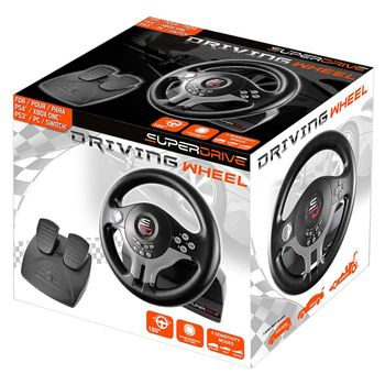 Subsonic SuperDrive SV200 Driving Wheel with Pedals (PS4, PS3,  Xbox One, Switch)