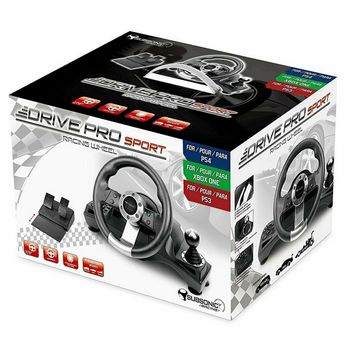 Subsonic Drive Pro Sport Wheel with Pedals and Gear Shift (PS4, PS3,  Xbox One)