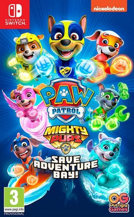 SWITCH Nickelodeon PAW Patrol: Mighty Pups Save Adventure Bay!