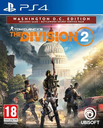 PS4 Tom Clancy's The Division 2 Washington D.C. Edition