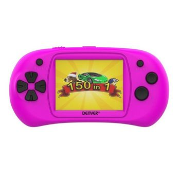 Denver Mini Console incl. 150 Games - Pink