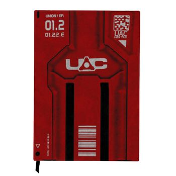 Notebook DOOM - UAC Keycard, Hardcover A5