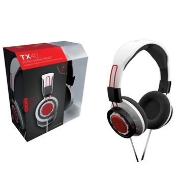 Gioteck TX40 Stereo Gaming Headset - White (PS4, Xbox One)