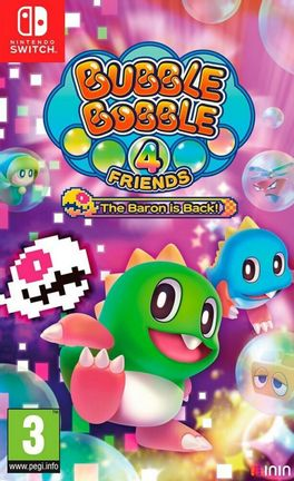 SWITCH Bubble Bobble 4 Friends: The Baron is Back!