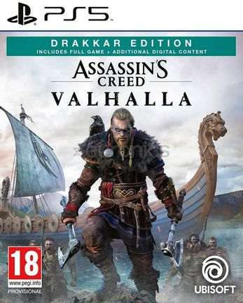 PS5 Assassin's Creed Valhalla Drakkar Edition