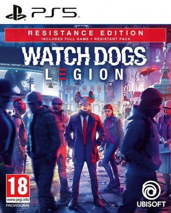 PS5 Watch Dogs Legion Resistance Edition