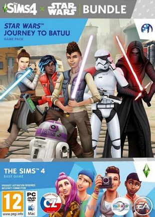 PC Sims 4: Star Wars Bundle incl. Journey to Batuu Game Pack
