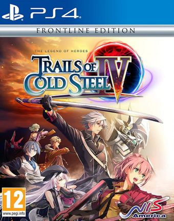 PS4 Legend of Heroes: Trails of Cold Steel IV Frontline Edition