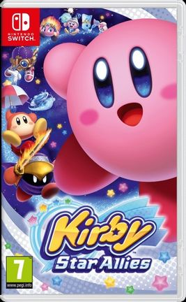 SWITCH Kirby Star Allies [USED] (Grade A)