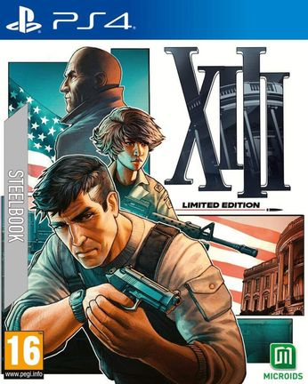 PS4 XIII Limited Edition Steelbook