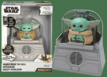 Star Wars: The Mandalorian - The Child (Baby Yoda) Speaker with Motion and Sound