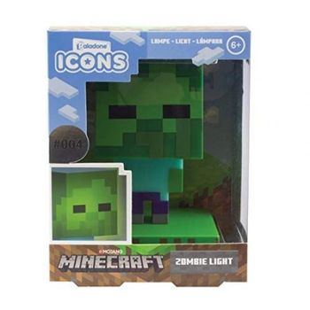 Minecraft - Zombie Icon Light, 10cm