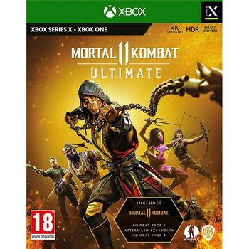 Xbox One Mortal Kombat 11 Ultimate Limited Steelbook Edition