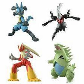 Pokemon - Shodo Action Mini Figures Assortment, Series 3
