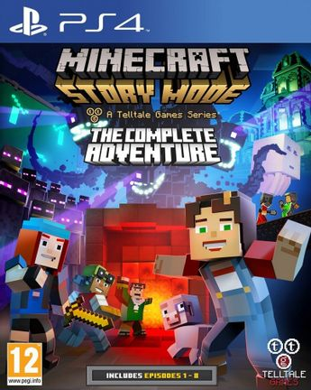 PS4 Minecraft: Story Mode - The Complete Adventure [USED] (Grade A)