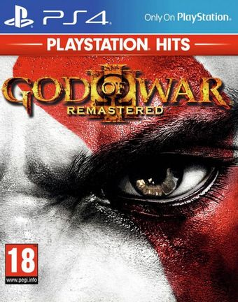 PS4 God of War III Remastered incl. Russian Audio [USED] (Grade A)
