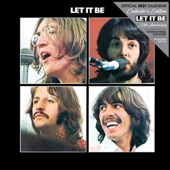 2021 Calendar - Beatles (Let It Be 50th Anniversary), 30x30cm