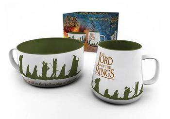 Breakfast Set: Lord of the Rings - Fellowship Mug and Bowl
