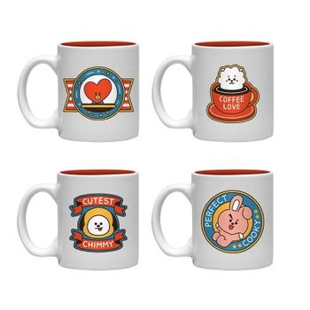 Espresso Set: BT21 - Icons Mini Mugs 4-Pack