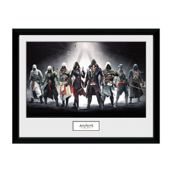 Framed Print: Assassin's Creed - Characters, 30x40cm