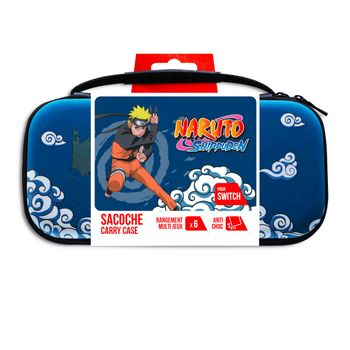 Freaks and Geeks Carry Case XL - Naruto Shippuden Black/Blue (Switch)
