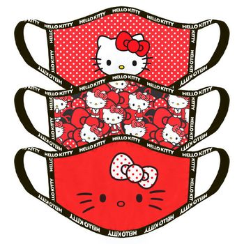 Face Mask 3-Pack: Hello Kitty - Characters