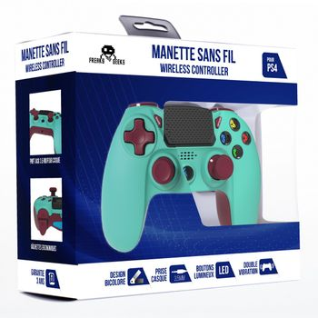 Freaks and Geeks Wireless Controller - Turquoise (PS4)