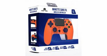 Freaks and Geeks Wireless Controller - Orange (PS4)
