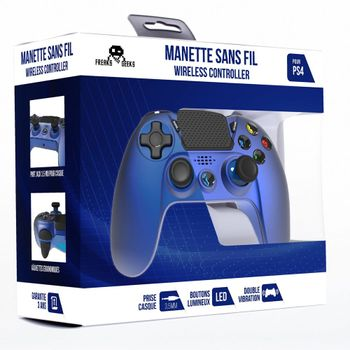Freaks and Geeks Wireless Controller - Metallic Blue (PS4)