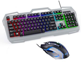 M.TK GT811 Gaming Keyboard and Mouse Combo, US Layout