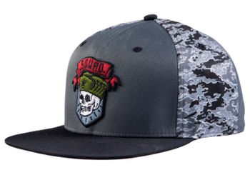 Snapback Cap: Call of Duty: Black Ops Cold War - Squad Patch, Camo/Grey