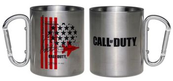 Call of Duty: Black Ops Cold War - Fly Over Metal Camping Mug, 300ml