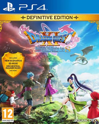 PS4 Dragon Quest XI S: Echoes of an Elusive Age Definitive Edition