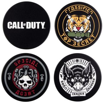 Call of Duty: Black Ops Cold War - Badge Coasters 4-Pack