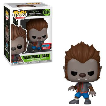 POP! Television: The Simpsons Treehouse of Horror - Werewolf Bart Limited Vinyl Figure