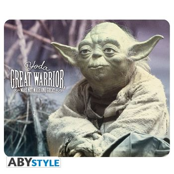 Mouse Pad Star Wars - Yoda Great Warrior, 235x195mm