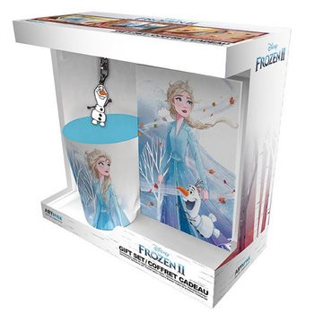 Gift Box: Disney Frosen 2 - Elsa Mug (250ml), Keychain and Notebook (A6)