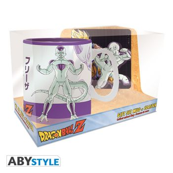 Gift Box: Dragon Ball Z - Goku vs Frieza Mug (460ml) and Coaster