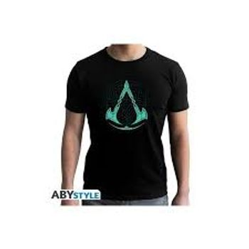 T-Shirt Assassin's Creed Valhalla - Crest, Black Size M
