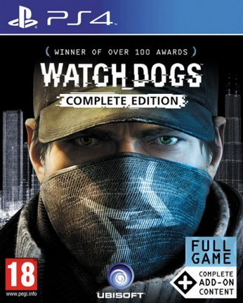 PS4 Watch Dogs Complete Edition [USED] (Grade A)