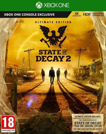 Xbox One State of Decay 2 Ultimate Edition